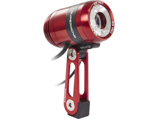 Supernova E3 Pro 2 Koplamp, red